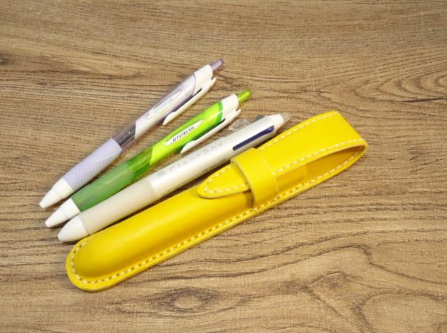 1本差しペンケース Type-Yellow