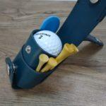 ゴルフボールケース ベルト装着タイプ