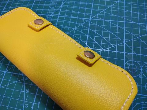 合皮のコバ処理 革を2枚貼りあわせた場合のコバ処理方法